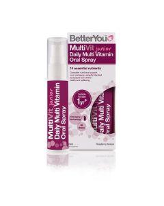 Multivitamínico Junior Spray Oral Sabor Framboesa