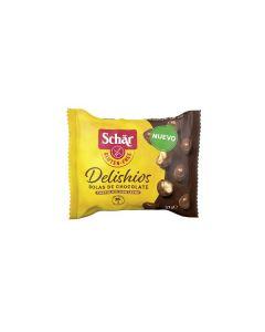 Bolas De Chocolate Crocantes Isentas De Glúten