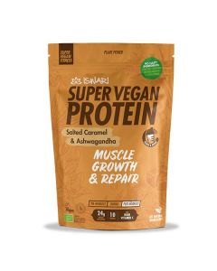 Proteína Vegan Bio Caramelo Salgado Ashwagandha - Pós Treino