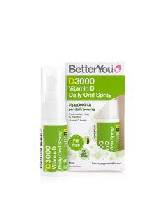 Vitamina D 3000Ui Spray Oral