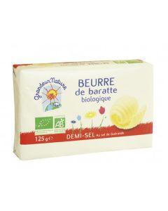 Manteiga Meio Sal Bio 125G