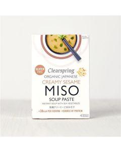 C.Spring Sopa Instantanea Miso Branco Com Sésamo 4X15g