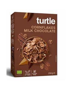 Flocos De Milho Com Chocolate De Leite Bio Sem Glúten