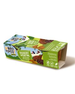 Sobremesa Vegetal Amêndoa Cacau Bio