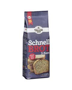 Preparado Para Pão Bio Com 5 Cereais Sem Glúten