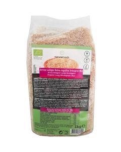 arroz longo extra agulha integral bio