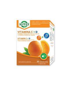 Vtamina C 500Mg + Vitamina D 4000Ui