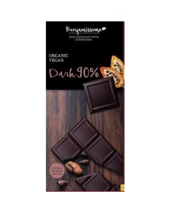 Chocolate Preto 90% Bio Sem Glúten