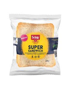 Pão Sem Glúten Fatias Grande Para Sanduíches