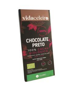 Chocolate Preto 100% Cacau Bio Sem Glúten