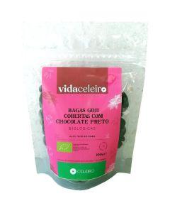 Bagas Goji Com Com Cobertura De Chocolate