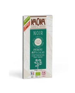 Chocolate Preto Biológico E Comércio Justo 85% Peru