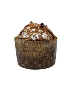 Panettone De Fermentação Natural Com Chocolate