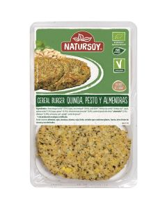 Burguer Quinoa E Pesto Biológico