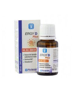 Ergy D Plus Vitamina D3 800 Ui