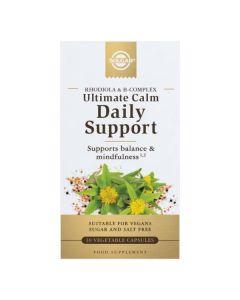 Ultimate Calm Daily Support - Vitaminas B E Rodiola