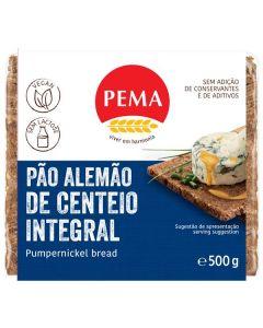 Pão Alemão Integral De Centeio Pumpernikel