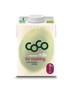 Leite De Coco Bio Para Cozinhar