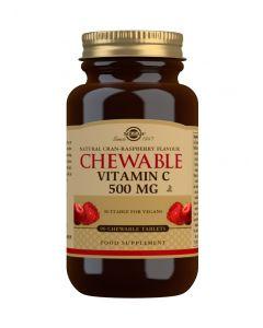 Vitamina C Com Sabor A Arando Vermelho E Framboesa